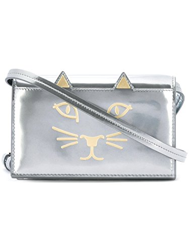 charlotte-olympia-womens-l001010040-silver-leather-clutch