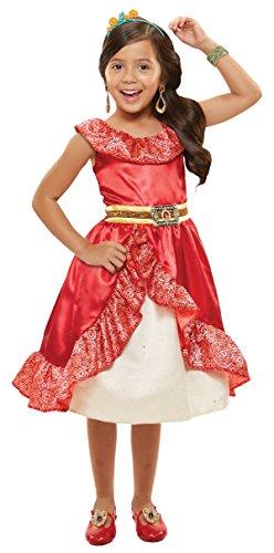 Disney Elena of Avalor Adventure Dress - Child Size 4-6 - Creative Group Kostüm