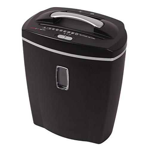 ernichter, bis zu 10 Blatt, Partikelschnitt (Sicherheitsstufe P-4), mit CD - Shredder, inkl. Papierkorb, schwarz ()