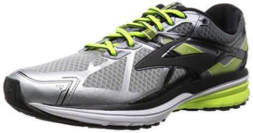 Brooks Ravenna 7, Scarpe da Corsa Uomo, Multicolore (Silver/Nightlife/Black), 42 EU