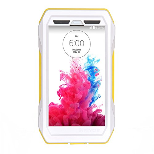 Forhouse LG G3 Warerproof Case, Water Resistant case with Screen Protector for LG G3, Sport Exercise Running Hiking, Etc Yellow