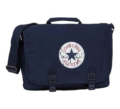 Converse  Vintage Patch Canvas Shoulder Bag, Sac bandoulière pour femme Bleu Bleu