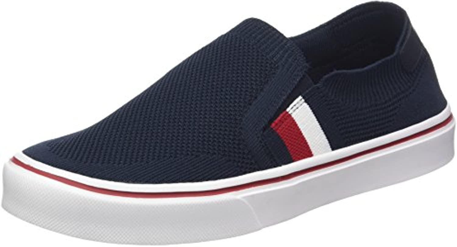 Tommy Hilfiger Lightweight Corporate Slip On, Zapatillas para Hombre