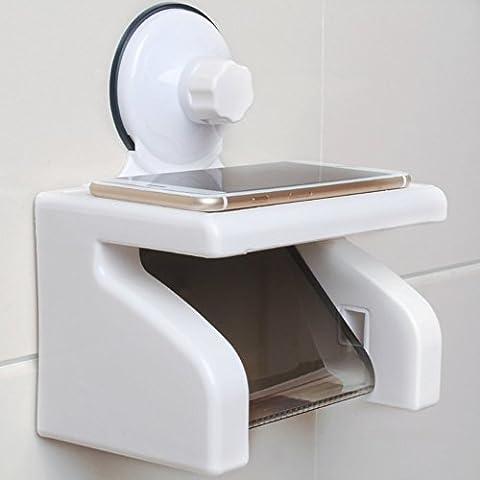 Waterproof paper towel holder sucker/Bathroom Tissue Box/Toilet roll holder/Toilet paper