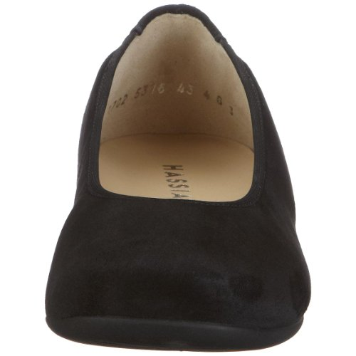 Hassia Petra 0-301702-0100, Ballerine donna Nero (Schwarz (schwarz))