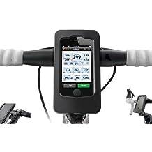 Wahoo Fitness  - Soporte de iPhone para bicicleta con sensor de velocidad y cadencia, color negro