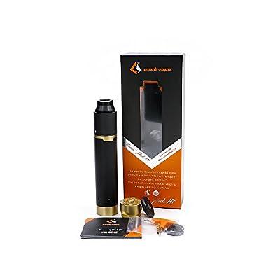Geekvape Tsunami RDA Mech Kit, E Zigarette Mechanische Mod Starter Kit mit RDA Tank Drip Tip Zerstäuber, keine E Liquid, Nikotin frei (Messing-) von Geekvape