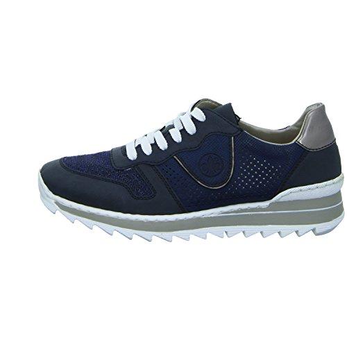 Rieker Damen M6906 Sneakers Blau (pazifik/royal/royal/altsilber / 14)