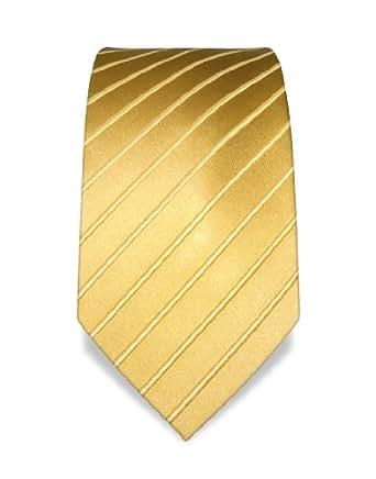 VB Cravate - or - couleur nuancée, rayé