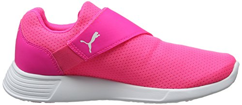 Puma Unisex-Kinder St Trainer Evo Ac Jr Low-Top Pink (knockout pink-puma white 03)