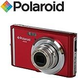 """Appareil photo numerique ultra compact Polaroid iE826 de 18 megapixels (18 Mpx, zoom optique 8x, batterie Li-Ion, ecran 2,4"""") (rouge)"""