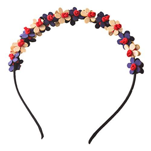 Lurrose Blumen Kranz Stirnband Haar Girlande Blumen Kopfschmuck Haarschmuck für Hochzeit Strand