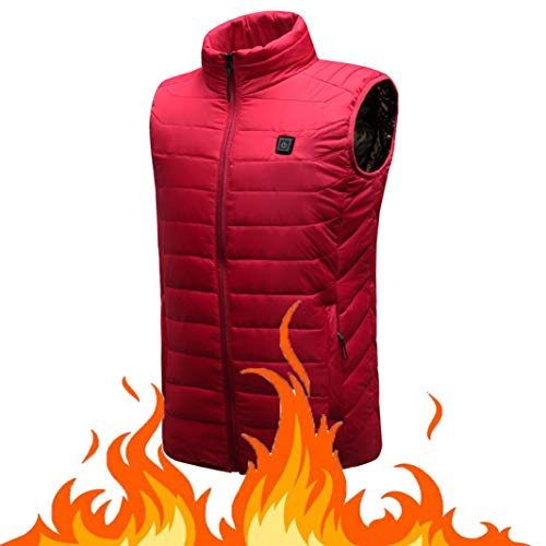 OUTANY Women es Heated Vest, Winter Outdoor Sport Warm Insulated Vest Rechargeable Windproof USB,M | 01035685242680