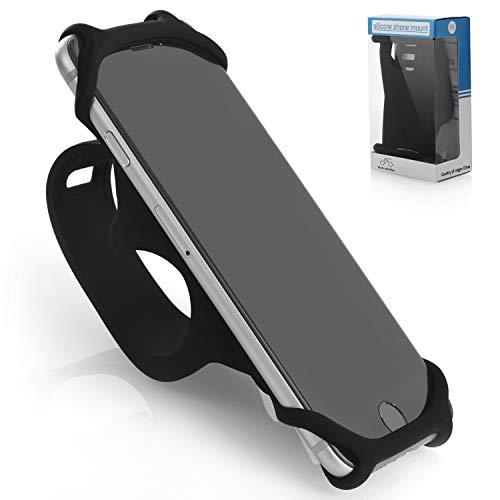 DAVANDI Silico Premium Fahrrad Handyhalterung Für Smartphones - Größe L