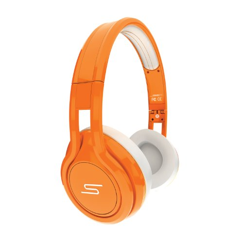 Sms Street-kopfhörer (SMS Audio SMS-ONWD-ORG STREET by 50 Cent On-Ear Wired Kopfhörer Limited Edition orange)