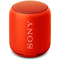 Sony SRS-XB10 Compact Portable Wireless Speaker with Extra Bass - Red