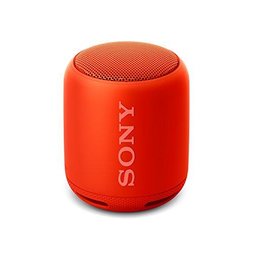 Sony SRS-XB10R- Altavoz inalámbrico portátil con Bluetooth y Extra Bass, Rojo