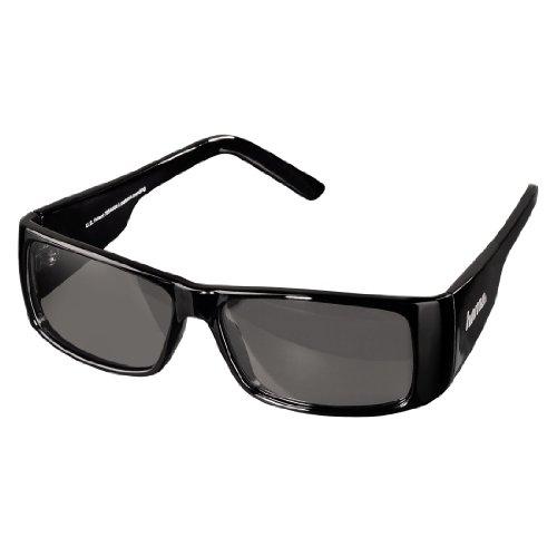 Hama 3D-Polfilterbrille Unisex sportlich schwarz