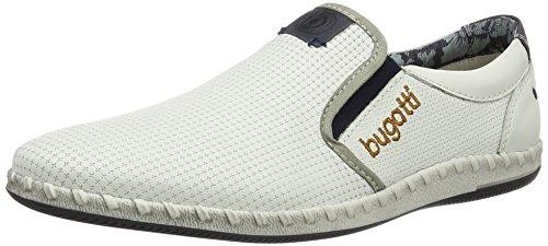 Bugatti K44671, Sneakers Basses Homme Blanc (Weiß 200)