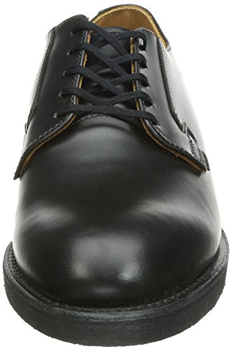 101 Black Schwarz Red Wing oxford black Postman BF5qZa