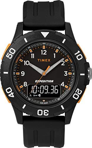 timex orologio analogico-digitale quarzo uomo con cinturino in resina tw4b16700