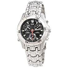 Time Force Analogue Quartz Watch with Stainless Steel Strap TF6679-02M