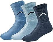 Ranger Sport Men's Heavy Duty Cotton Crew Athletic Socks, Pack
