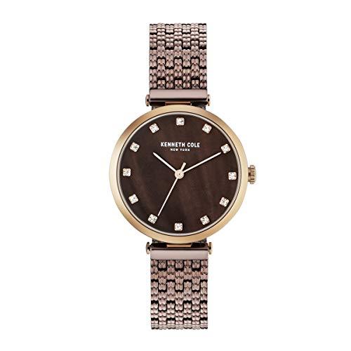 Kenneth Cole New York Mujer Reloj De Pulsera Analógico Cuarzo Acero Inoxidable kc50256005