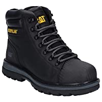 Caterpillar CAT Workwear Mens Foxfield Leather Safety Boots