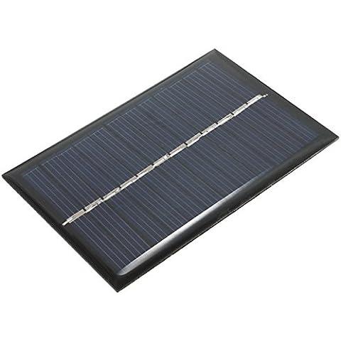 6v 100ma 0.6w policristalino mini-epoxi panel solar fotovoltaico