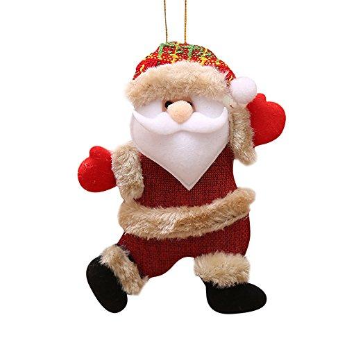 Decorazioni Natalizie, Zolimx Ornamenti Regalo Babbo Natale Pupazzo Di Neve Albero Giocattolo Bambola Appendere Decorazioni, Regalo Di Natale
