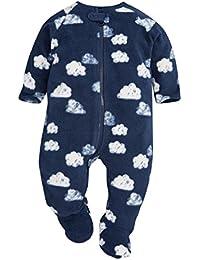 next Bebés Niños Pijama Felpa Pelel Estampado De Nube Suave (0 Meses-3 Años)