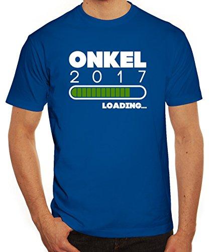 Geschenkidee Herren T-Shirt mit Onkel 2017 Loading... Motiv von ShirtStreet Royal Blau