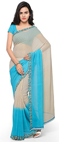 Anand Sarees Georgette Saree with Blouse Piece (1194_2_multicolour_Free size)