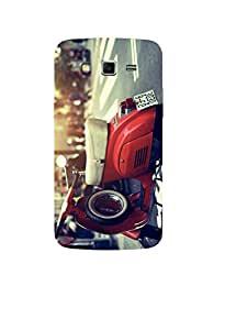Vespa Red Samsung Grand 2 Case
