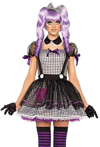 Kostüm Doll Dead - shoperama Damen-Kostüm Leg Avenue - Dead Eye Dolly, Größe:XS