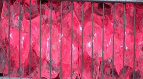 LED Gabionen Leuchte rot 85cm - Hochbeet-anschlüsse