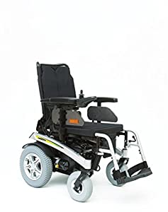 Pride Fusion Electric Powered Wheelchair with Power Tilt & Manual Recline - Grey