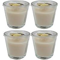Unbekannt 4er Set IKEA SINNLIG - Duftkerze im Glas (Vanille) preisvergleich bei billige-tabletten.eu