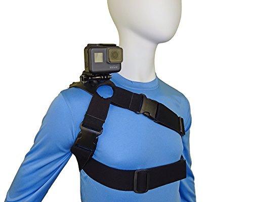 STUNTMAN 360 JR - Imbracatura per le spalle, il petto e l'anca per le telecamere d'azione