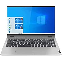 "Lenovo IdeaPad Flex 5 Notebook Convertibile, Display 15.6"" Full HD IPS Touch Processore Intel Core i3-1005G1, 512 GB SSD, RAM 8 GB, Fingerprint, Windows 10, Platinum Grey"