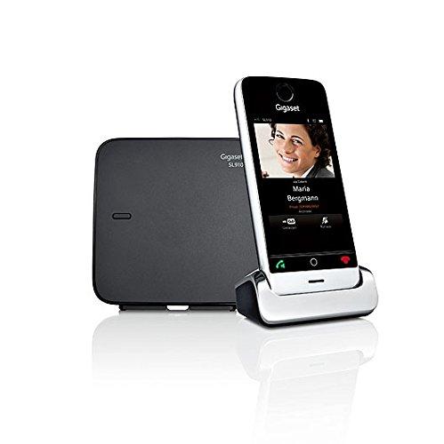 Gigaset SL910 Telefon - Schnurlostelefon / Mobilteil - mit Farbdisplay / Design Telefon / schnurloses Telefon - Freisprechen - schwarz - 2