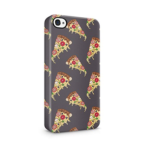 I Wish You Were A Macaron Quote Rainbow Macarons Pattern Apple iPhone 5 , iPhone 5S , iPhone SE Snap-On Hard Plastic Protective Shell Case Cover Custodia Pizza Slice