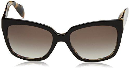 Prada Damen Sonnenbrille 07PS, Gr. One Size, Schwarz/Grau gradient