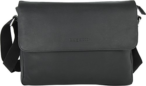 Bugatti Segno Messenger pelle 35 cm scomparto portatile schwarz, schwarz