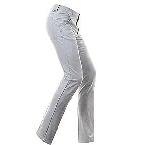Adidas Ultimate Prime Heather Pantalon Long de Golf, Homme, Homme, Ultimate Prime Heather, Gris