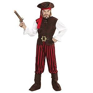 WIDMANN 65647infantil Disfraz Pirata Niño, Boys, 140cm