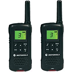 Motorola 59T60PACK - Motorola Walkie Talkies (TLKR T60, LCD, 8 canales), color negro