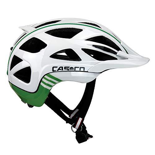 Casco Erwachsene Active 2 Fahrradhelm weiß-grün M
