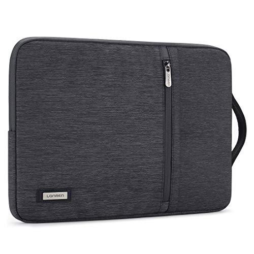 LONMEN Laptop Sleeve Wasserdichte Laptoptasche 14 Zoll Verdicken Laptophülle Kratzschut Tasche für 14